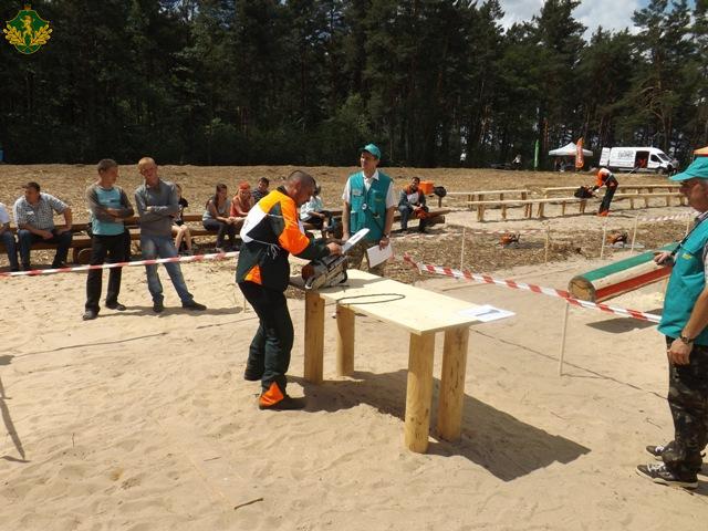Львівщина. Змагання вальників лісу